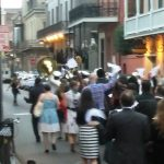 New Orleans Second Line Wedding Parade 2017
