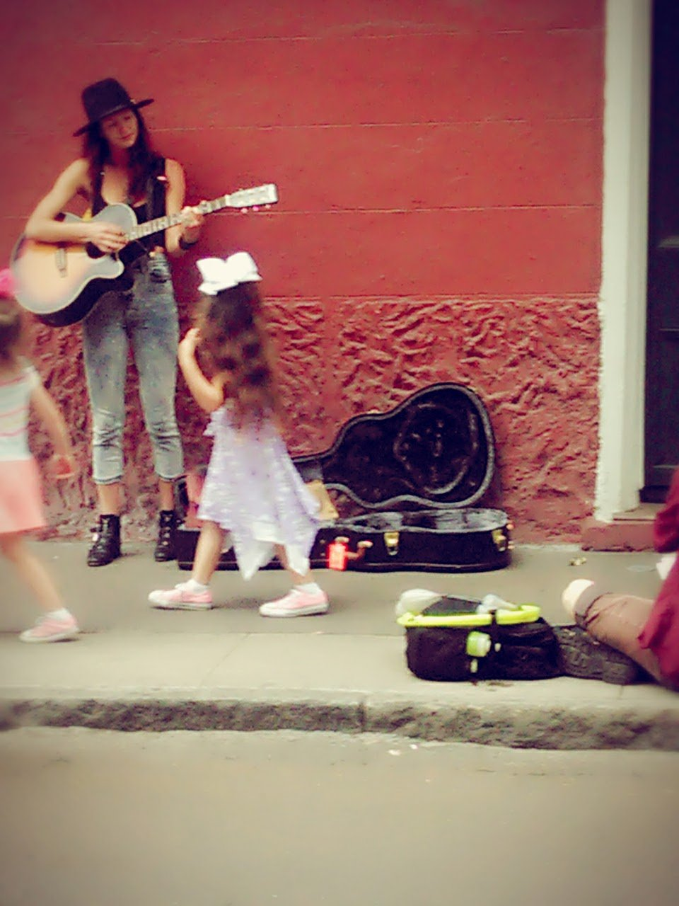 New Orleans Street Guitarist