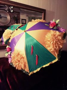 second line umbrella nola colors