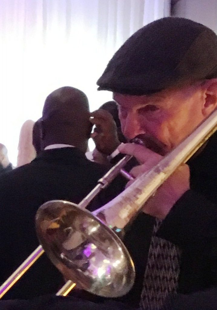 Jazz Musician Dan Reagan at Atlanta Wedding Performance